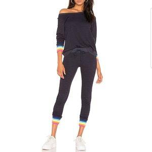 Sundry  Rainbow Cuff Sweatpants Set Size 3 Medium